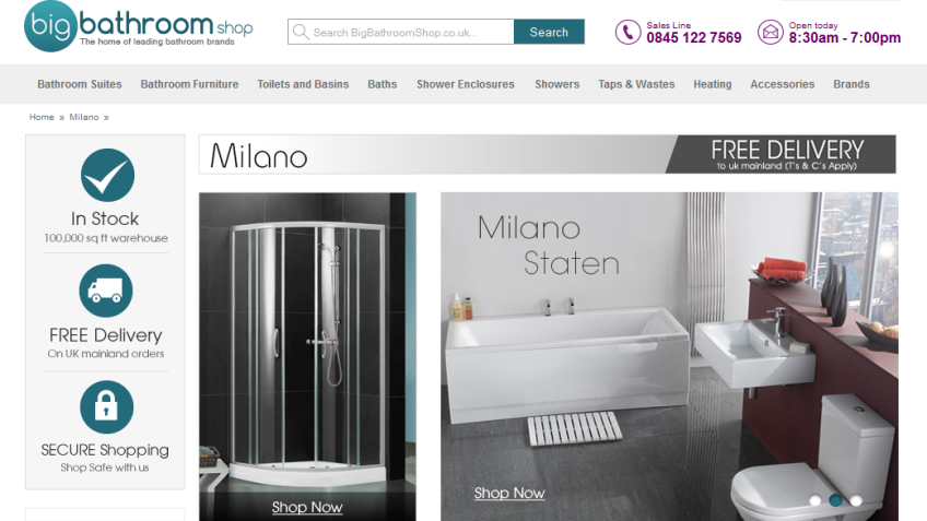 5% Off Milano Products