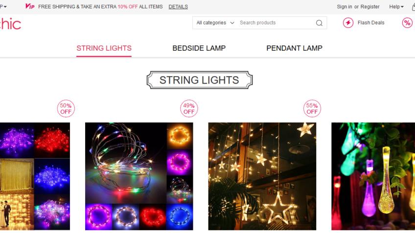 Get 10% Off Decorative Lights