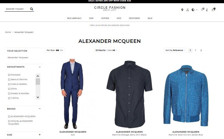 Alexander Mcqueen Clothing