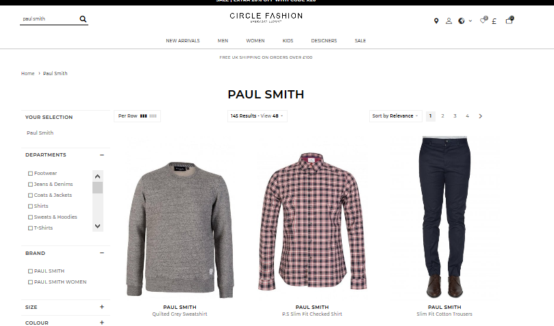 Paul Smith Fashion
