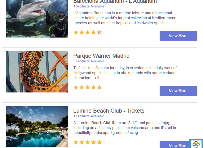 5% Off all attractions in Spain with 365 Tickets