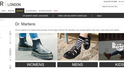 Dr Martens - Footwear Accessory Brands TOWER London
