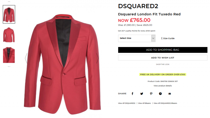 DSquared Sale