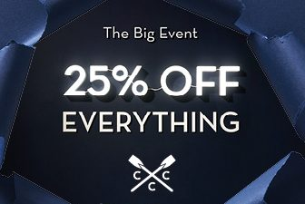 Big Black Friday Event | 25% off Everything | Crew Clothing Company