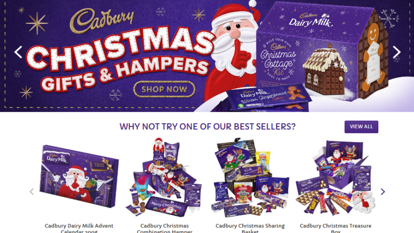 Cadbury Chocolate Hampers