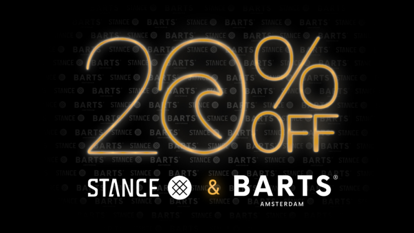 20% OFF Barts / Stance